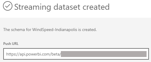 Power BI Streaming Datasets with C#