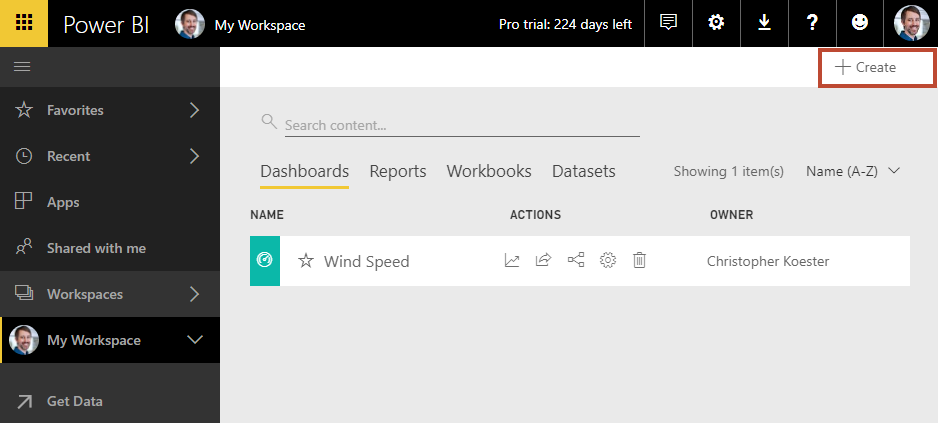Power BI Streaming Datasets C#